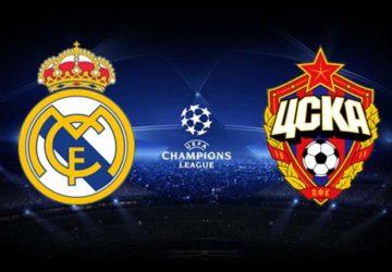 Реал Мадрид – ЦСКА: прогноз и коэффициенты на матч Лиги Чемпионов