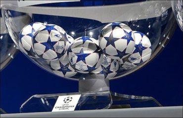 Жеребьёвка 1/8 финала Лиги Чемпионов УЕФА. ЛЧ 2018-2019