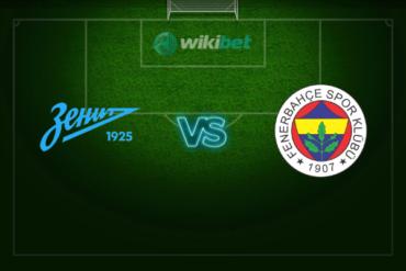 Зенит – Фенербахче: прогноз и коэффициенты на матч Лиги Европы