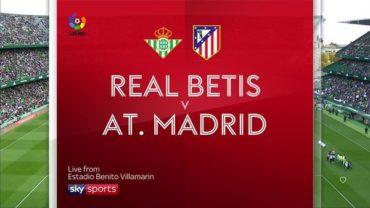 Бетис – Атлетико Мадрид: прогноз и коэффициенты на матч чемпионата Испании